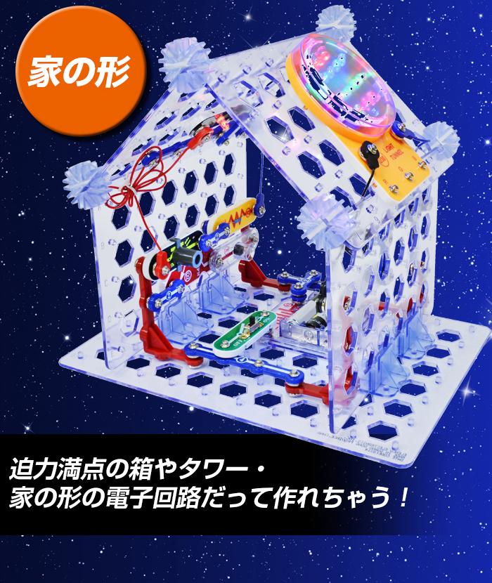 家の形にもできる電子回路